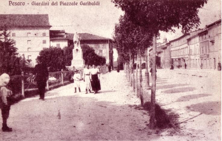 I giardini di Piazza Garibaldi