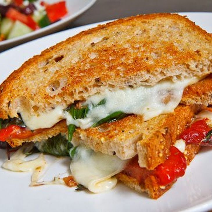 and goat cheese sandwich with smoked pepper spread spread goat cheese ...