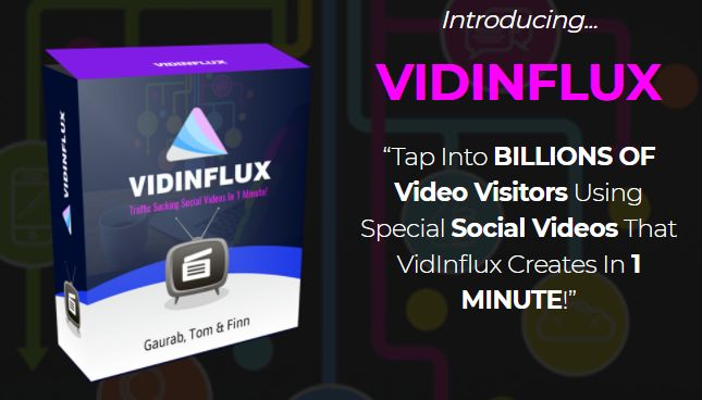 Vidinflux Social Videos By Tom Yevsikov is best video marketing software that helps you to turns a boring video into highly converting, engaging videos and captivate attention of visitors and get 100% free traffic using high-converting social videos in just 60 seconds flat.  #vidinflux #vidinfluxdeluxe #socialvideos #socialmediamarketing #viral #videomarketing #videos #engagement