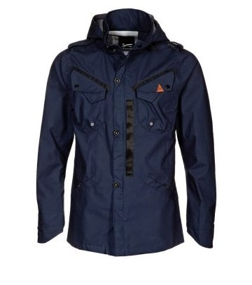 Denham TECHNICAL DUTY - Jackets - Blauw