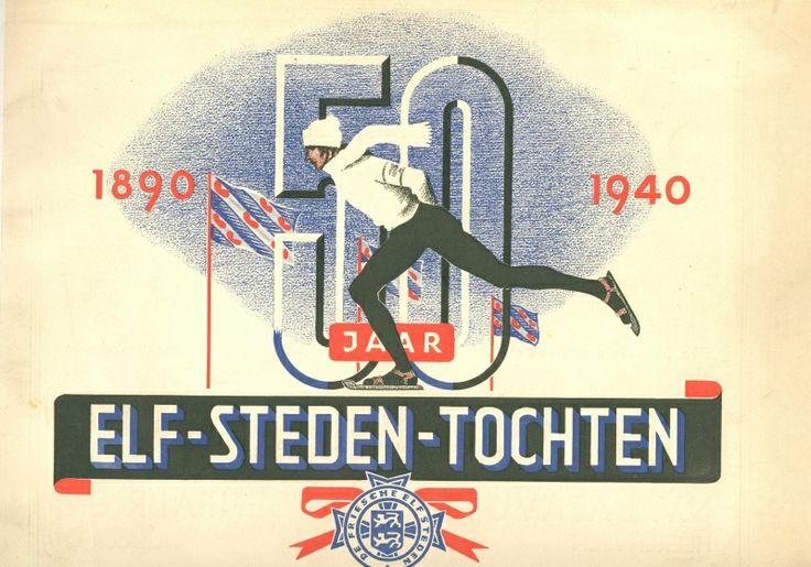 Op 6 februari 1941 werd de zevende Elfstedentocht verreden. Dit jubileumboekje verschijnt hetzelfde jaar.