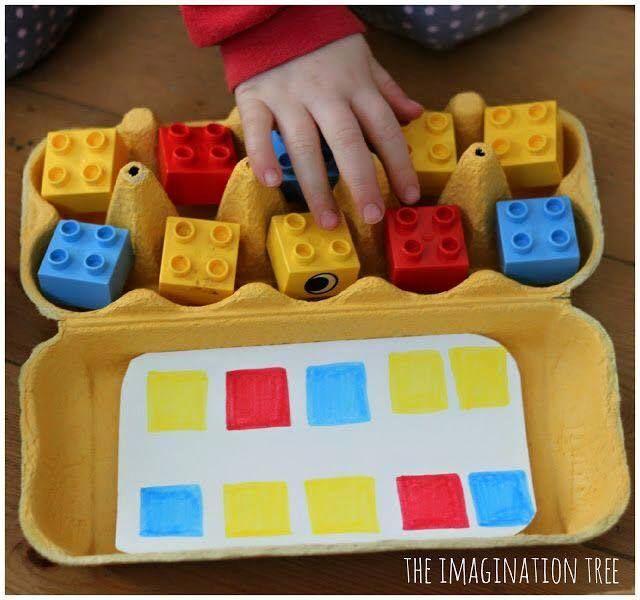barvi a všímavost dětí