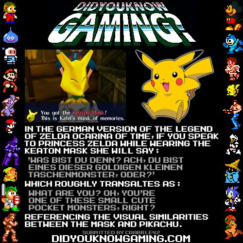 Did You Know Gaming? — The Legend of Zelda, Pokemon. ...