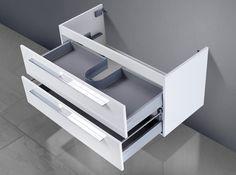 Unterschrank zu Keramag citterio 75 cm Ablagefläche rechts/links Waschbeckenunterschrank-002-1025