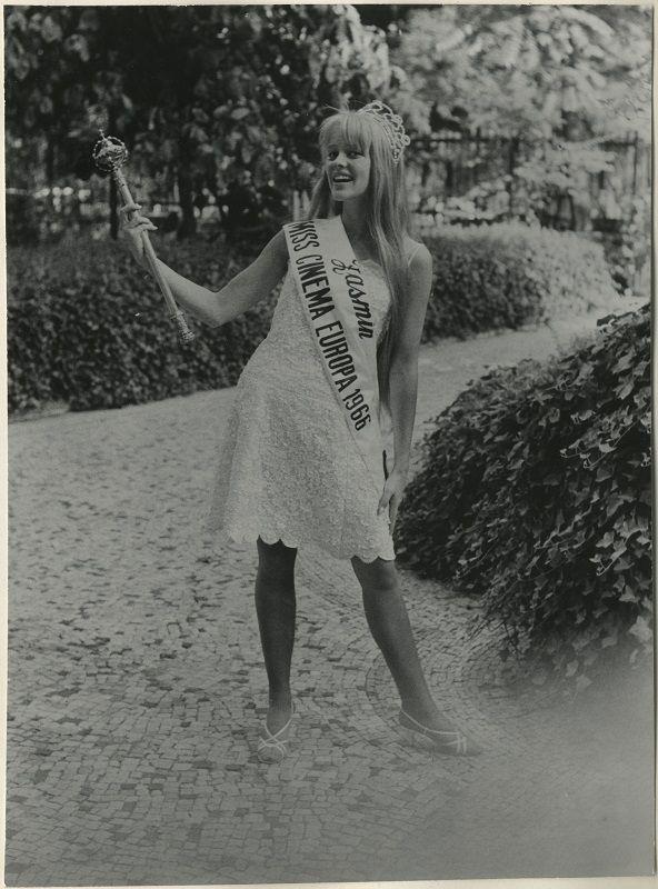 Miss Cinema Europe 1966, Thelma Ramström, #MissCinemaEurope