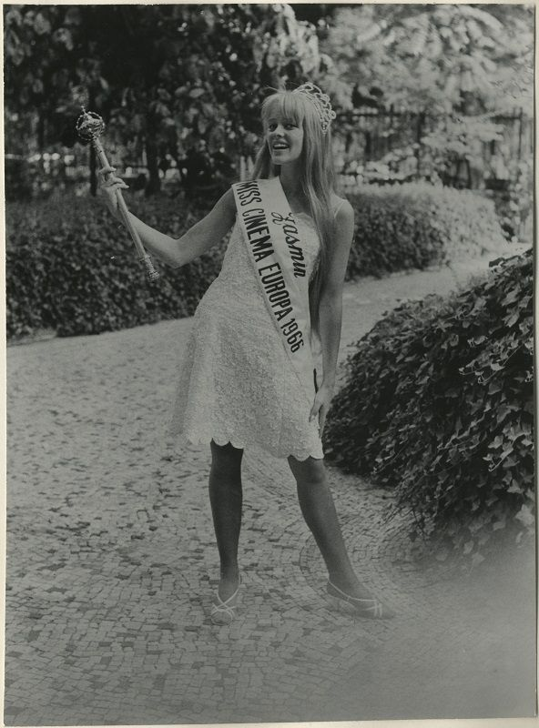 Miss Cinema Europe 1966, Thelma Ramström, #MissCinemaEurope