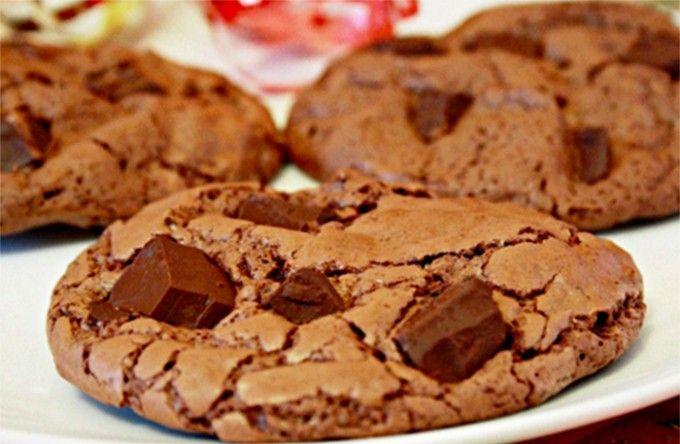 Domácí čokoládové sušenky • recept