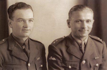 Jan Kubis and Jozef Gabcik, 1941. Heroes of Operation Anthropoid to kill Reinhard Heydrich