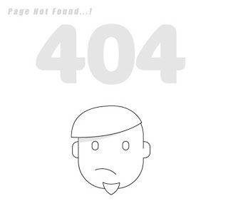 Techtspot: 10 Stylish 404 Error Pages For Blogger