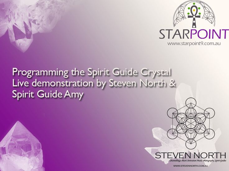 Video: Spirit Guide Crystal Programming by Steven North with Amy