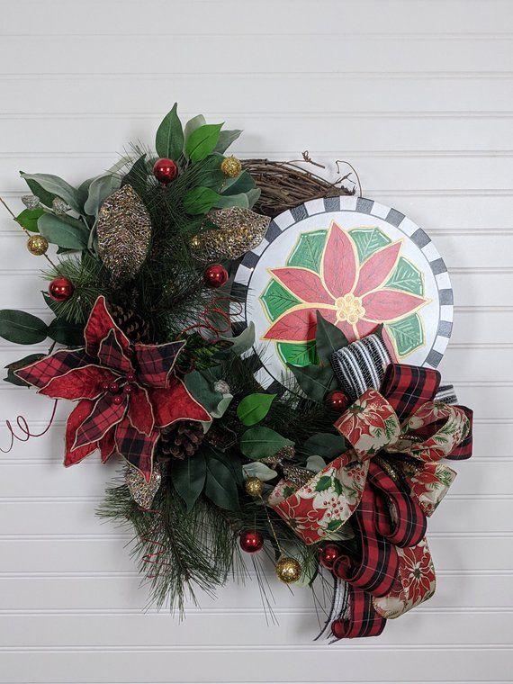 Grapevine Christmas Wreath, Grapevine Wreath, Christmas Wreath