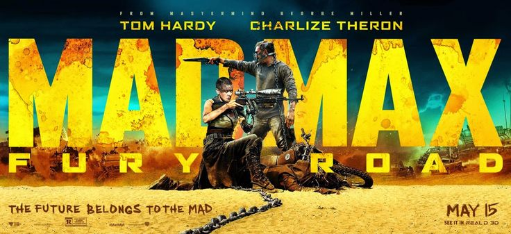 Mad Max Fury Road Banner Poster 2