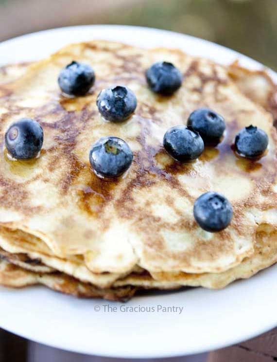 Clean Eating Gluten Free Coconut Pancakes- Made them.. SO filling, and delicious. Makes 15 pancakes, at 83 cal, 6g fat, and 4g protein each.