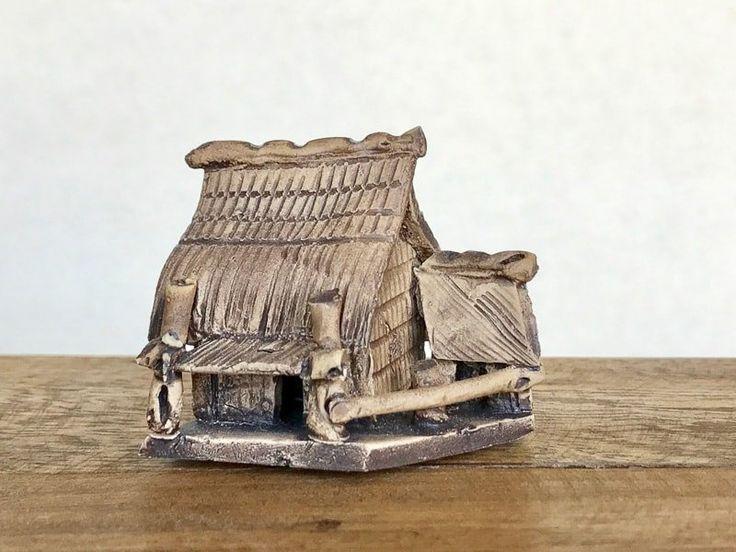 Grass Hut Figurines