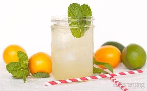 Meyer lemon mojito | cocktails | Pinterest