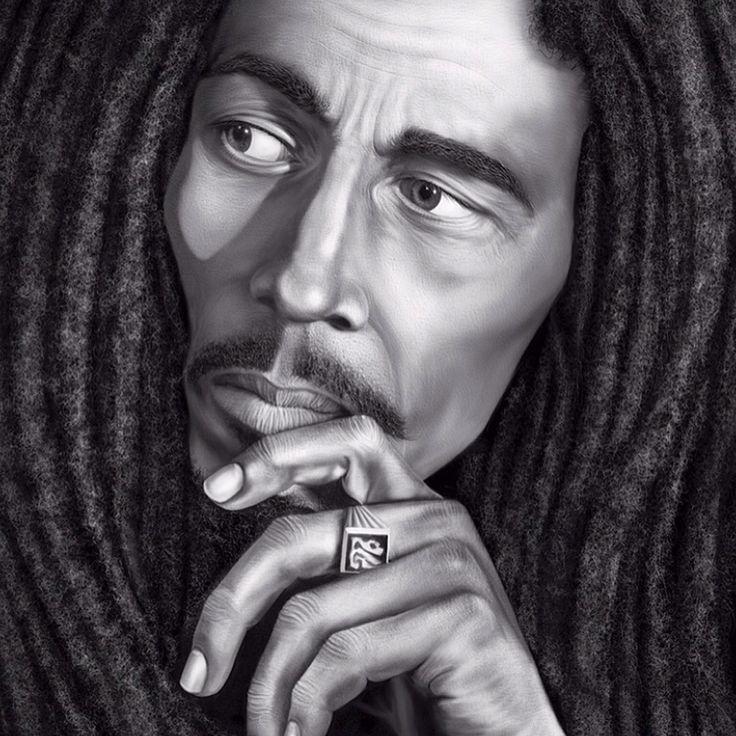 Ultimate Bob Marley Digital Art Collection