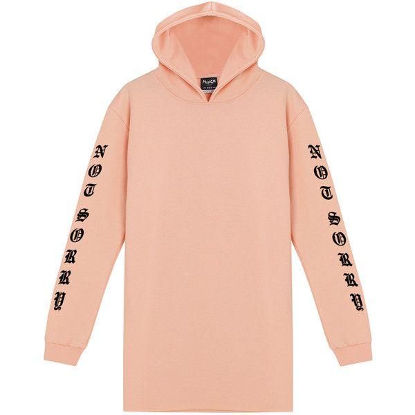 Not Sorry Hooded Dress Sweater Jumper Hoodie Womens Tumblr Grunge... ($30) ❤ liked on Polyvore featuring tops, hoodies, black, dresses, women's clothing, cotton hooded sweatshirt, retro hoodies, vintage hooded sweatshirt, hooded sweatshirt and vintage hoodie