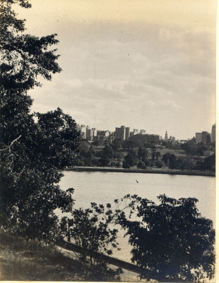 'The City from Domain' - RAHS/Osborne Collection