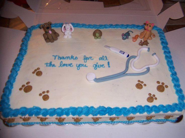 Veterinarian Cake