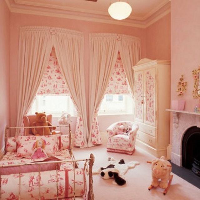 Curtains In The Nursery For Girls Fantastic Girls Nursery Pinterest Beds Girls And The O 39 Jays