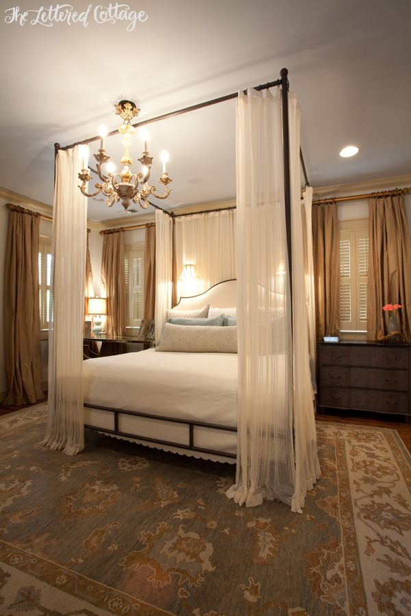 Best 25 Canopy bed drapes ideas on Pinterest Bed drapes Canopy