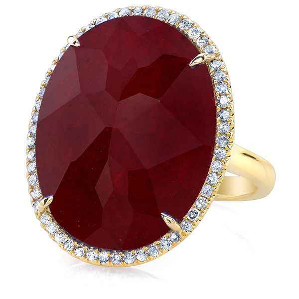 Best 25 Ruby Diamond Rings Ideas On Pinterest Ruby