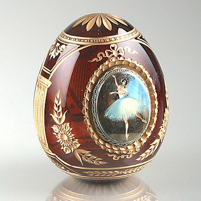 Faberge Crystal Egg, must have been made for the great Anna Pavlova! kMW