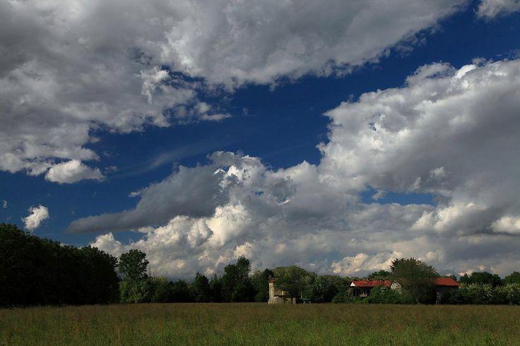 Paesaggio di campagna a Devesi, Ciriè (TO)