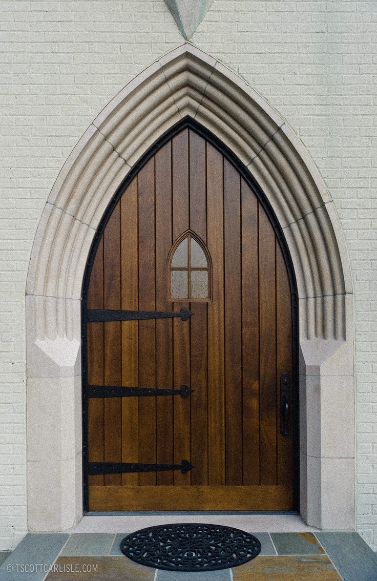 Gothic Arch...such clean lines. & 336 best Arched Doors images on Pinterest | Arched doors Doorway ... Pezcame.Com