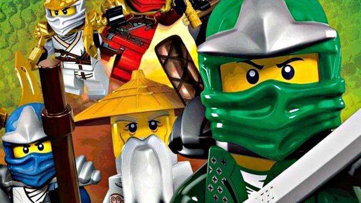 Лего Ниндзяго.Заброшенный Парк.Игры мультики про Ниндзя.Мастера Кружитцу...