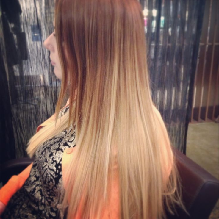 Copper and added more blonde belliage