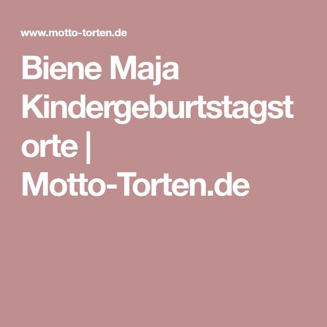 Biene Maja Kindergeburtstagstorte | Motto-Torten.de