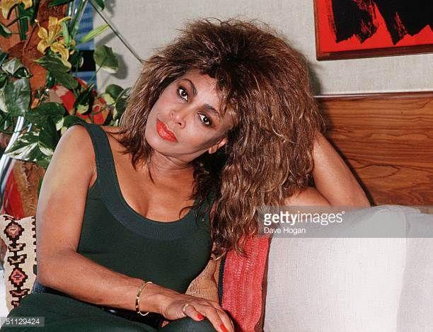 Singer Tina Turner in Rio de Janeiro Brazil
