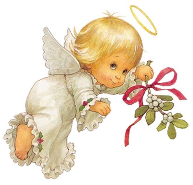 Лица, открытка ангелочек