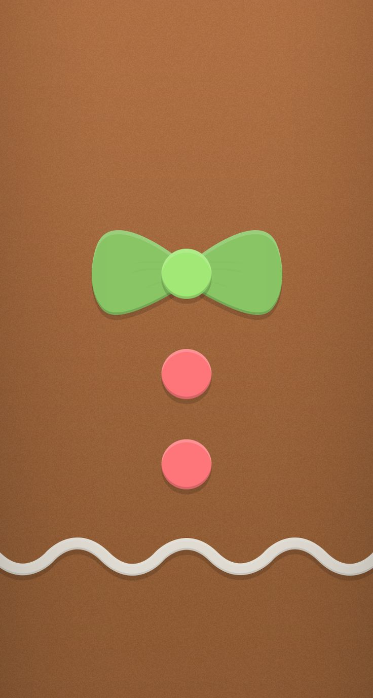 Gingerbread ★ Find more seasonal #iPhone + #Android #Wallpapers and…