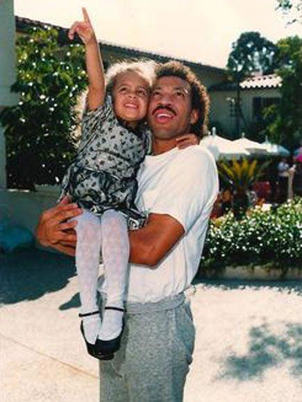 Lionel Richie and Nicole Richie