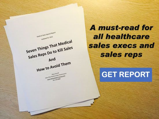 Was sent this by my boss today and very much enjoyed it.   http://medicalsalestraining.com/medical-device-sales-more-than-pharmaceutical.html