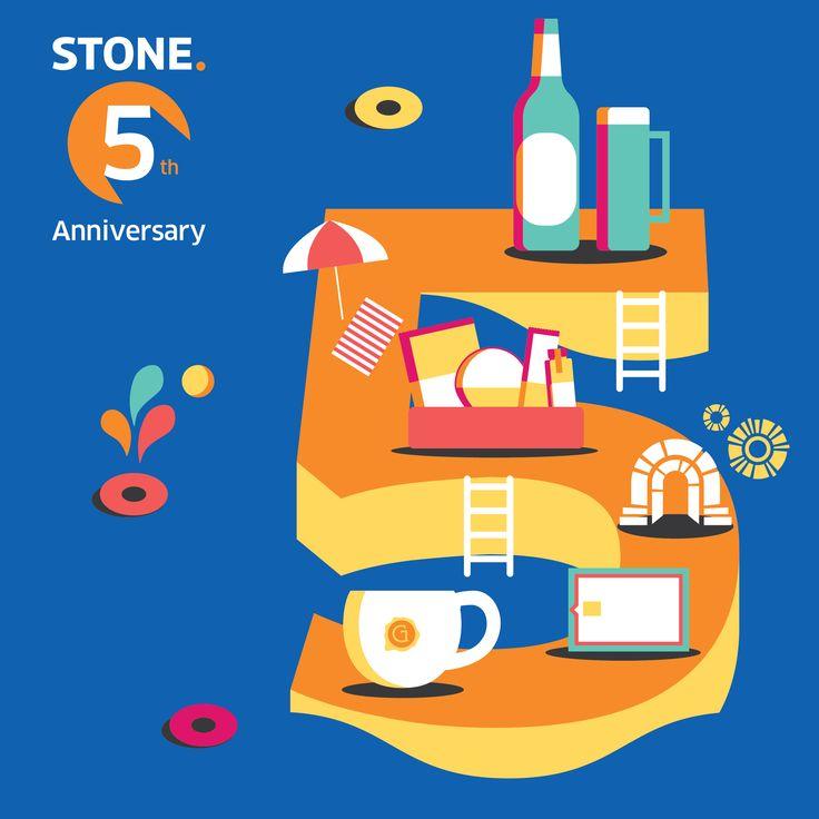 Celebrating STONE's 5th Anniversary!  stonebc.com #character#design#stone#stonebc#designer#graphic#brand#branding#agency#creative#studio#seoul#advertising#illustration#typography#type#content#marketing#card#office#interior#strategy#idea#layout#digital#global