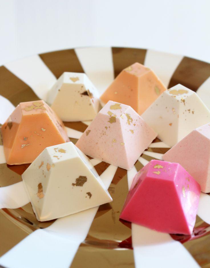 DIY CHOCOLATE PYRAMIDS