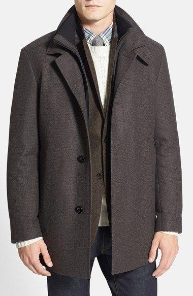 Dark Brown Overcoat by Hugo Boss. Buy for $595 from Nordstrom