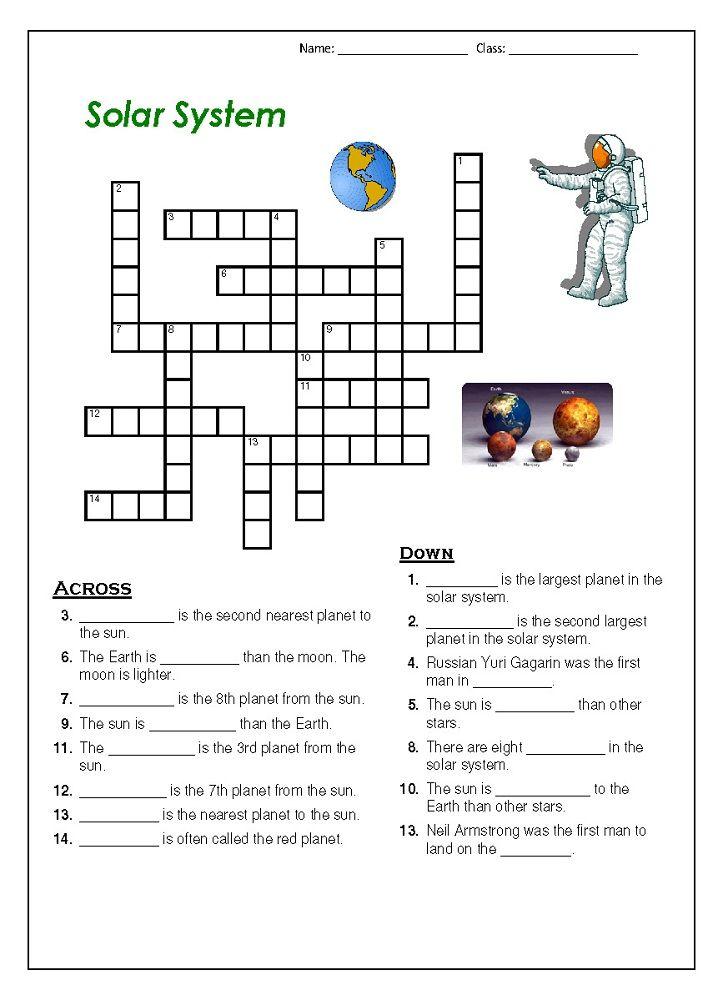 outer space worksheets for kids crossword k5 worksheets educative puzzle for kids solar. Black Bedroom Furniture Sets. Home Design Ideas