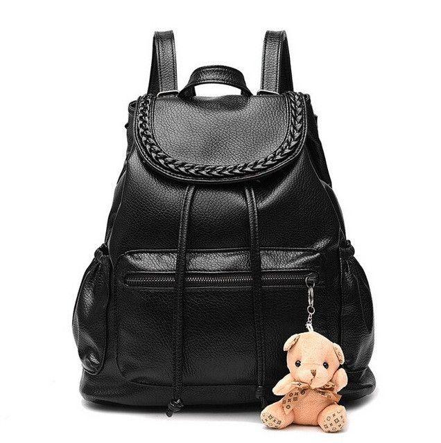Vogue Star Fashion Women's Backpacks Leather School Bags Rucksacks for Teenager Girls Ladies Shoulder Bags Satchel Bags LS526