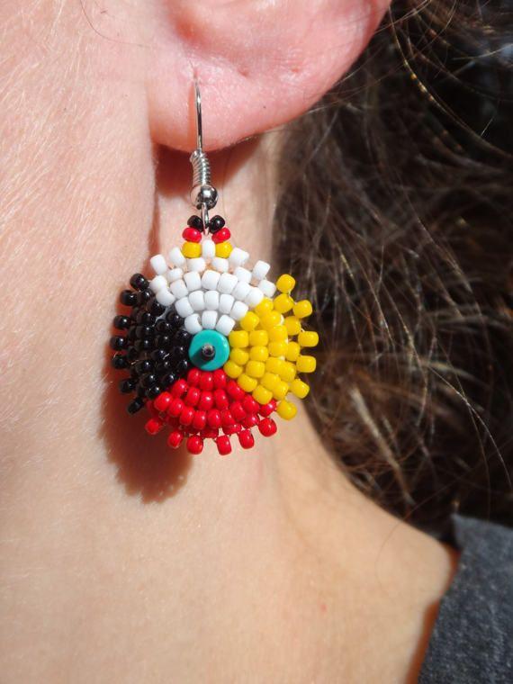 Best 25 Seed Bead Earrings Ideas On Pinterest Beaded