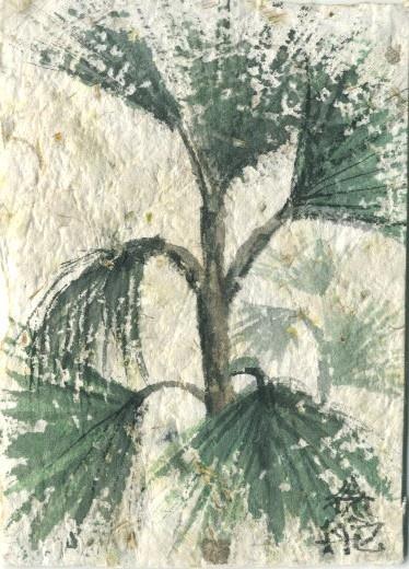 Sumi E On Handmade Paper By Linda Giese My Art
