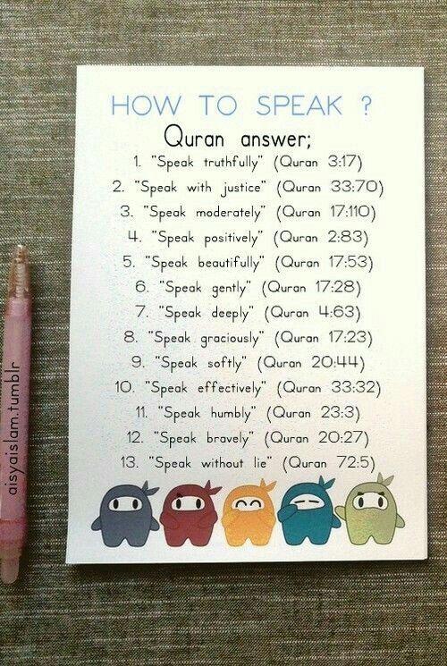How 2 speak