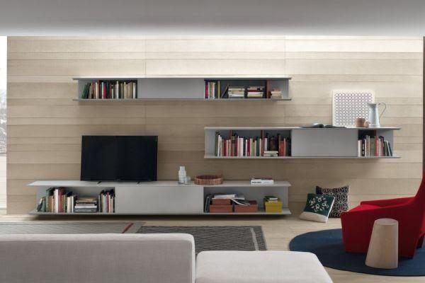 Soluzioni per il soggiorno: come scegliere la parete ...