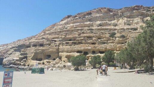 Grotten van Mattala