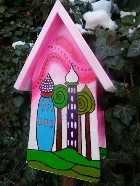 Nistkästen & Vogelhäuser - Nistkasten für Meisen, Vogelhaus, Vogelvilla - ein Designerstück von Vogel-Tom bei DaWanda