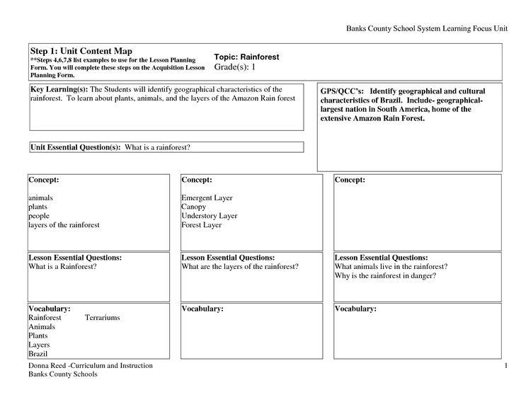 34 best Preschool Emergent Curriculum images on Pinterest - curriculum planning template