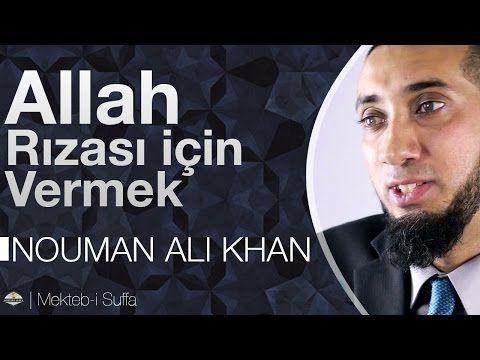 Allah Rızâsı İçin Vermek - Nouman Ali Khan